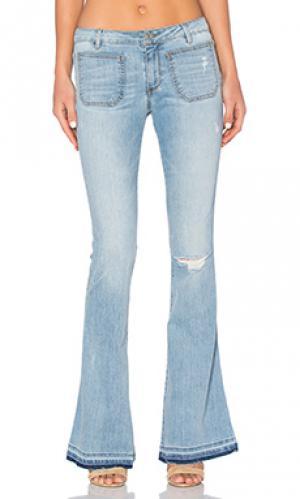 Расклешенные джинсы goldie Black Orchid. Цвет: none