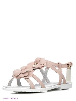 Сандалии KEDDO. Цвет: бледно-розовый