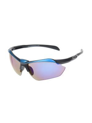 Очки солнцезащитные Gusachi. Цвет: синий