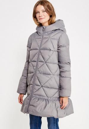 Куртка утепленная Odri Mio. Цвет: серый
