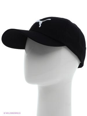 Бейсболка ESS Cap Puma. Цвет: черный