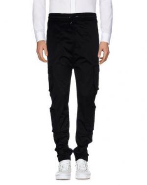 Повседневные брюки I LOVE UGLY. Цвет: черный