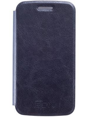 Кейс-книжка для Samsung Galaxy Ace SM-G313H skinBOX. Цвет: черный
