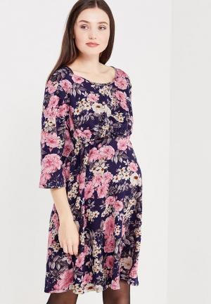 Платье Фэст. Цвет: фиолетовый