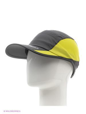 Кепка Performance Cap ASICS. Цвет: серый, желтый