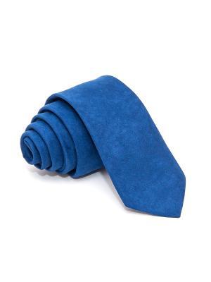 Галстук Churchill accessories. Цвет: темно-синий, синий