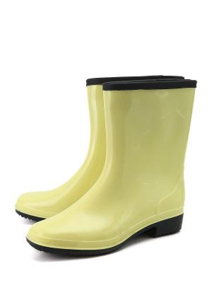 Резиновые сапоги Берёза. Цвет: желтый