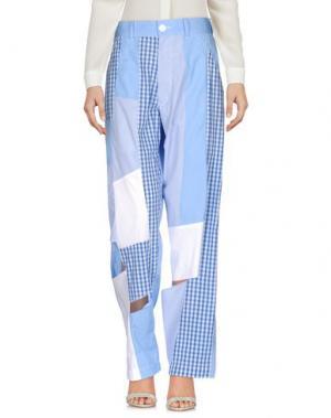 Повседневные брюки COMME DES GARÇONS SHIRT. Цвет: небесно-голубой