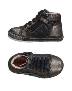 Низкие кеды и кроссовки GARVALIN. Цвет: черный
