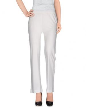 Повседневные брюки ALPHA STUDIO. Цвет: белый