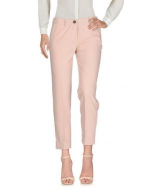 Повседневные брюки KARTIKA. Цвет: розовый