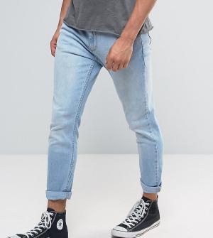 Rollas Синие джинсы слим Rollies. Цвет: черный