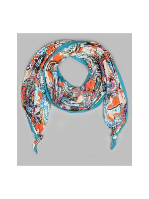 Платок Оланж Ассорти. Цвет: голубой, оранжевый