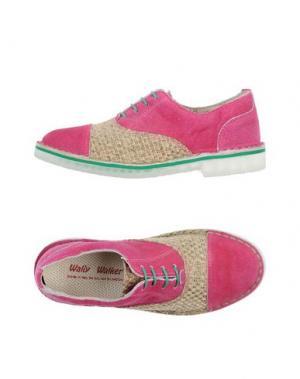 Обувь на шнурках WALLY WALKER. Цвет: хаки