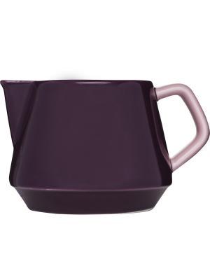 Кувшин для молока Sagaform. Цвет: сливовый, розовый