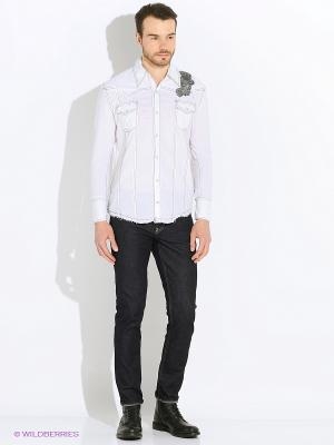 Рубашка VON DUTCH. Цвет: белый