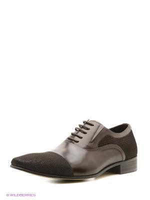 Туфли Premier. Цвет: коричневый