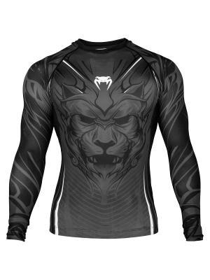 Рашгард Venum Bloody Roar Black/Grey L/S. Цвет: серый, черный