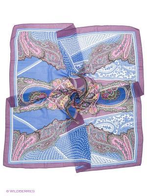 Платок Lovely Jewelry. Цвет: синий, сливовый, розовый