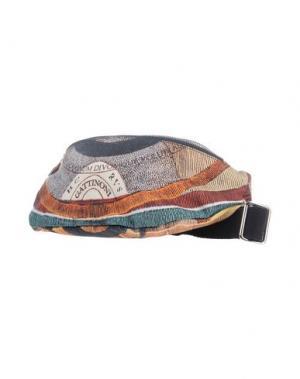 Рюкзаки и сумки на пояс GATTINONI. Цвет: бежевый
