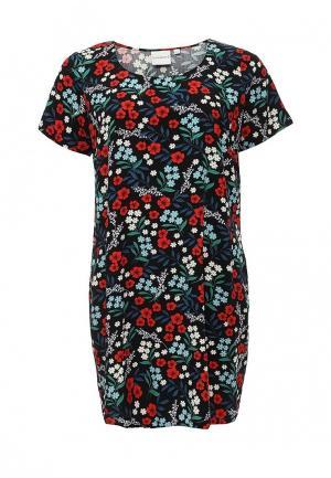 Платье Junarose. Цвет: черно-белый
