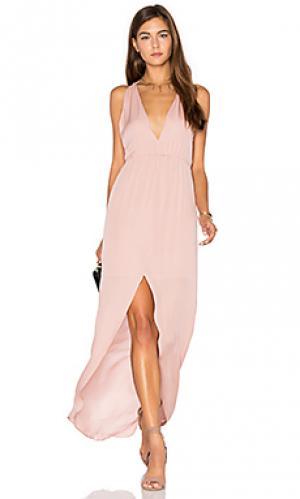 Вечернее платье hampton Rory Beca. Цвет: румянец