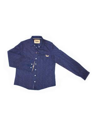 Рубашка Pilota. Цвет: индиго
