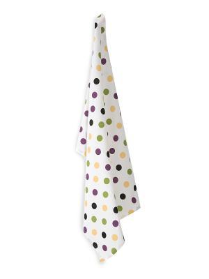Полотенце кухонное Каролина DAILY by TOGAS. Цвет: белый, зеленый