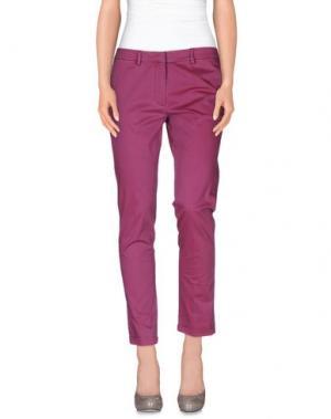 Повседневные брюки MANUEL RITZ. Цвет: светло-фиолетовый
