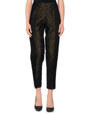 Повседневные брюки SHIRTAPORTER. Цвет: темно-зеленый