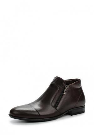 Ботинки классические Nord. Цвет: коричневый