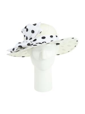 Шляпа Moltini. Цвет: белый