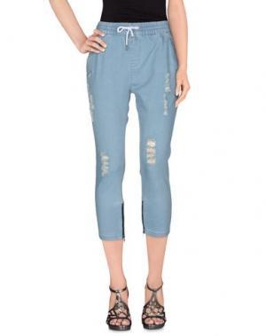 Джинсовые брюки PUBLISH. Цвет: синий