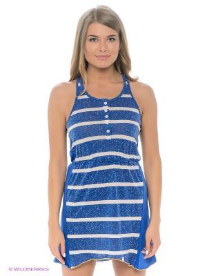 Платье-туника BRUNOTTI. Цвет: синий