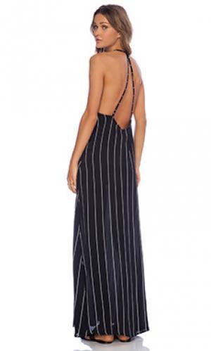 Макси платье carley Otis & Maclain. Цвет: черный