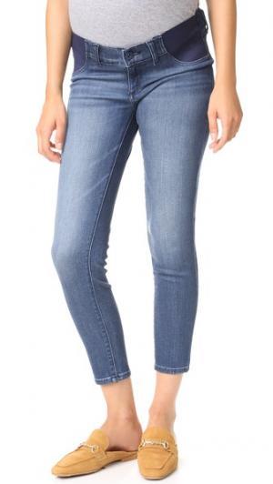 Укороченные джинсы для беременных Florence Instasculpt DL1961. Цвет: orwell