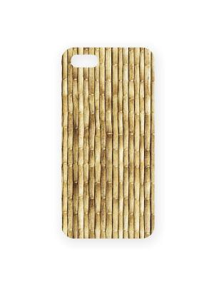 Чехол для IPhone 5 Бамбук Mitya Veselkov. Цвет: светло-коричневый