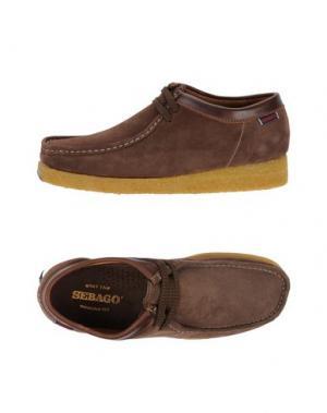 Обувь на шнурках SEBAGO. Цвет: хаки