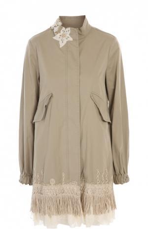Куртка History Repeats by Femme. Цвет: бежевый
