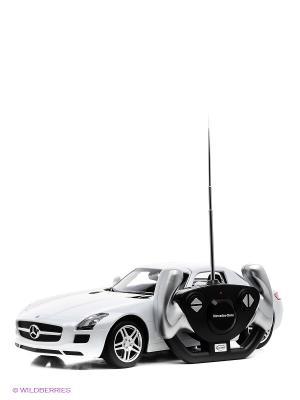 Машина Mercedes-benz sls amg RASTAR. Цвет: белый