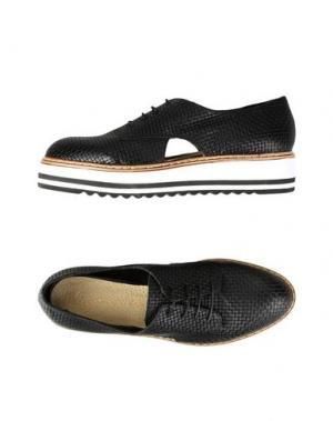 Обувь на шнурках GEORGE J. LOVE. Цвет: черный