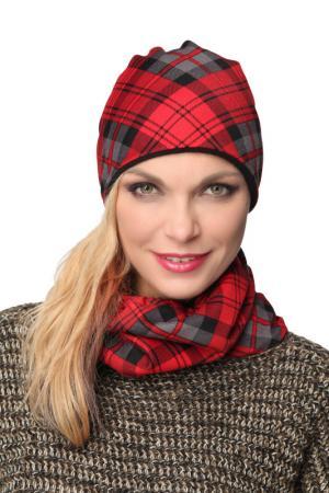 Манишка LakMiss. Цвет: красный, серый