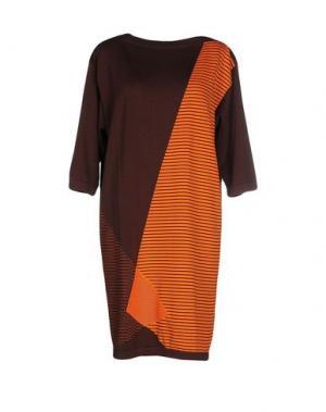 Короткое платье GENTRYPORTOFINO. Цвет: оранжевый