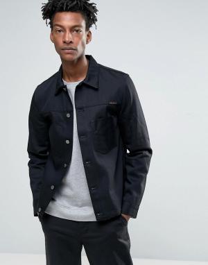 Nudie Jeans Джинсовая куртка Co Ronny. Цвет: синий