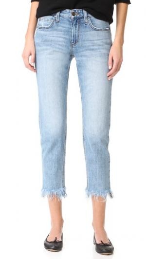 Прямые джинсы до щиколотки Smith со средней посадкой Joe's Jeans. Цвет: светло-голубой