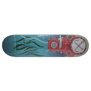 Дека для скейтборда  Vodolaz Denim/Beige 32 x 8.125 (20.6 см) Nord. Цвет: голубой,бежевый
