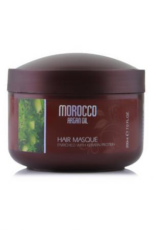 Восстанавливающая маска 200 мл Morocco Argan Oil. Цвет: none