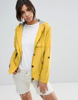 Parka London Укороченная куртка-парка Anja. Цвет: желтый