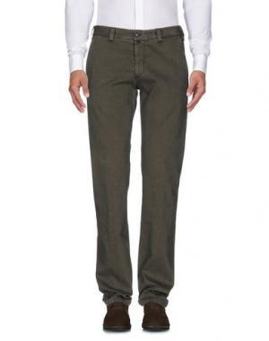 Повседневные брюки BETWOIN. Цвет: зеленый-милитари