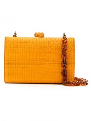 Clutch bag Serpui. Цвет: жёлтый и оранжевый